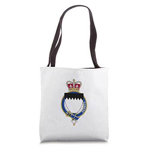 Powers Coat of Arms - Family Crest Tote Bag