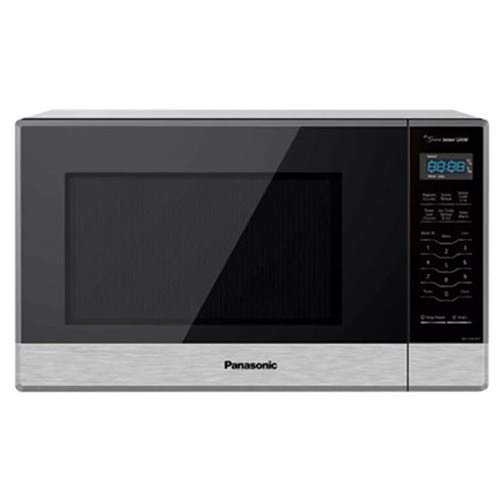 Panasonic NN-SN67HST 1.2 cu. ft. 1200W Cooking Power Stainless Steel Cool Blue LED Inverter Turbo Defrost Countertop Microwave Oven (Renewed)