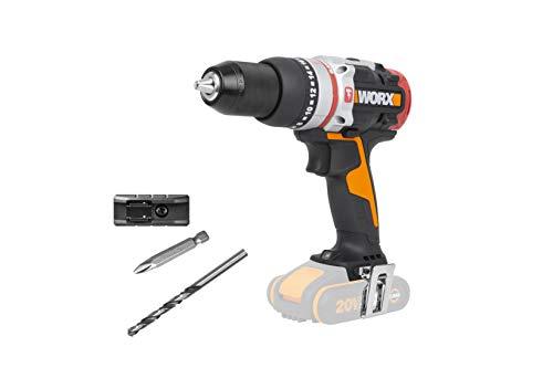 WORX WX354.9 SLAMMER 18 V (20 V MAX) Cordless Brushless 60Nm Combi Drill - BARE UNIT