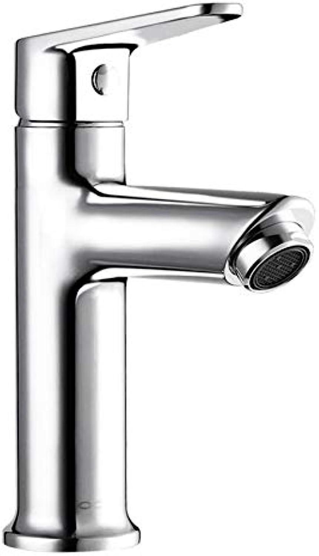 Faucet Basin Faucetbathroom Bathroom Washbasin Bathroom Cabinet Hot and Cold Single Handle Single Hole Counter Basin Faucet