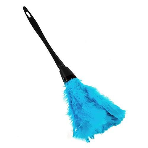 Cepillo de Plumero Hecho a Mano para la Limpieza del Coche para el hogar(Sky Blue)