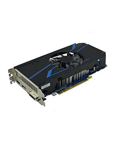 GUOQING Tarjeta gráfica para Juegos Apta Fit For Sapphire R7 250 2GB Computadora Gaming Radeon R7250X 2G Apta Fit For AMD Mapa 128bit HDMI VGA DVI GDDR5