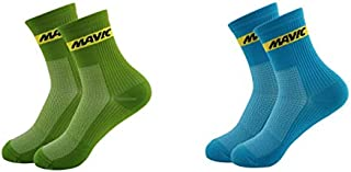 Bright color socks Cycling socks High cool tall mountain socks Outdoor Sport Compression socks sold color socks