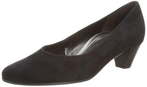 Gabor Bali - Scarpe con tacco da donna, colore Nero (Black Suede), taglia 4 UK (37 EU)
