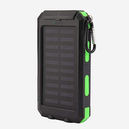 73JohnPol 300000mAh Lazy Dual USB Cargador de batería externo de emergencia portátil Ultra delgado Teléfono móvil Banco de energía solar