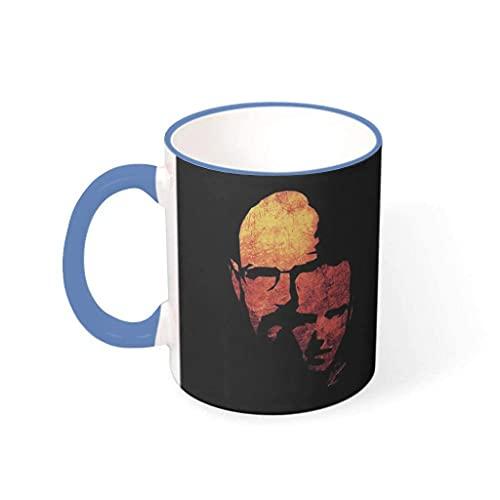 NA Tazza da caffè Verde con Logo Breaking Bad Tazza da tè in Porcellana con Grafica Divertente, Regalo per i colleghi