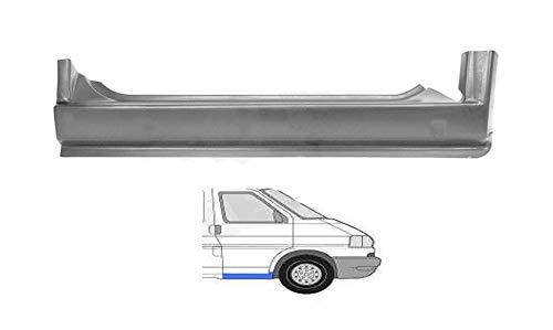 Schweller Außenschweller Einstiegrepraturblech unter der Tür vorne seitlich RECHTS Einstieg Reparatur Blech passend für T4 Transporter Bus Kasten Pritsche