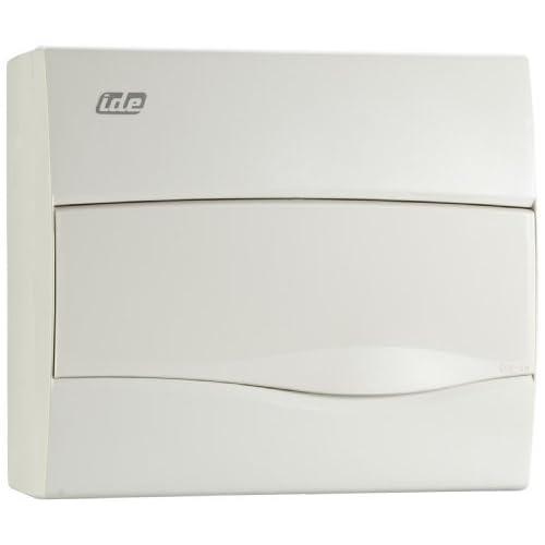 Unitec 47106 AP - Caja de distribución (IP 40, 1 fila, 12 módulos ...