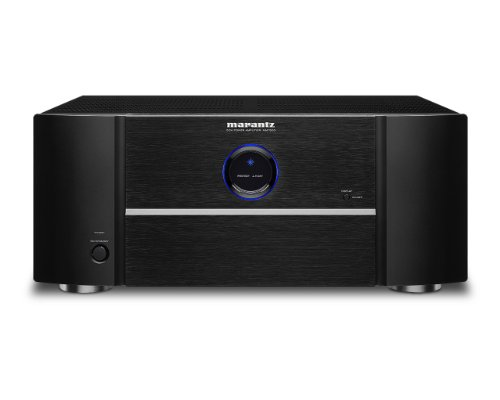 Marantz MM7055 Power Amplifier – 5-Channel Amp for Ultimate Home Theater & Audio Systems | High-Power Capability, Quality & Design | Gold-Plated Terminals