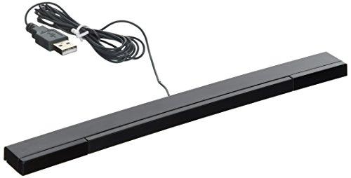 Nextronics USB-Sensorleiste für Wii / Wii U / PC / Mac / Emulator, Schwarz