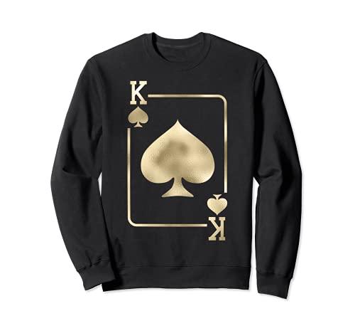 King of Spades - Juego de cartas para Halloween Sudadera