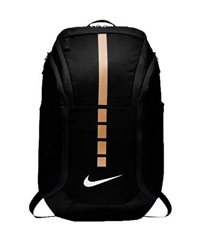 Nike Hoops Elite Hoops Pro Basketball Backpack,Black Metallic Gold,One Size