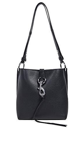 Rebecca Minkoff Women's Megan Small Feed Bag, Black, One Size