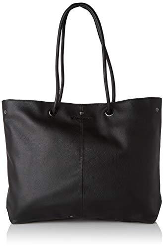 Guess Lilly Tote, Bolsos de hombro para mujer, Negro (Black), 11x32x38 Centimeters (W x H x L)