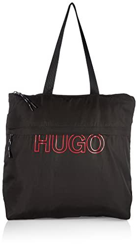 HUGO Reborn Tote Bag Black3 - Bolso de la compra para mujer, color negro