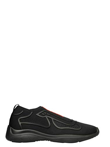Prada Luxury Fashion Uomo 4E33923KPLF0002 Nero Slip On Sneakers | Autunno Inverno 19