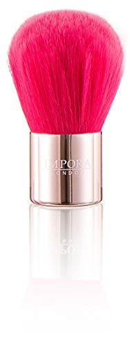 Mini-Kabuki-Puderpinsel - Rosa. Puder, Rouge, Blush, Bronzer, Grundierung, Mineral Make-up auftragen