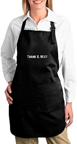 NR Danke U, folgende lustige Schutzbleche für Männer und Frauen mit 2 Taschen - Küchenchef Cooking Grilling BBQ Baking Apron