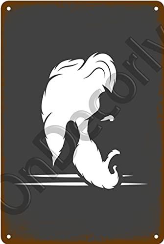 ALLYAOFA Retro Barber Shop Herramienta De Corte De Pelo Letrero De Chapa De Metal Placa De Decoración del Hogar Elegante Letrero De Metal Decoración De Arte De Pared Cartel De Metal Ondecorly21245