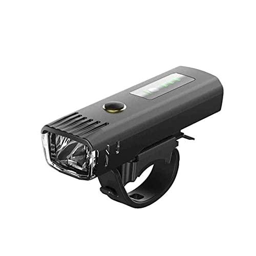 XIXIDIAN Luces de Bicicletas Recargables USB súper Brillantes, Opciones de Modo de iluminación Exterior de 4 Noches, Luces de Bicicleta de Carretera a Prueba de Agua luz Delantera