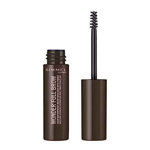 Rimmel Wonder'full 24Hr Brow Mascara 4.5ml, oscuro
