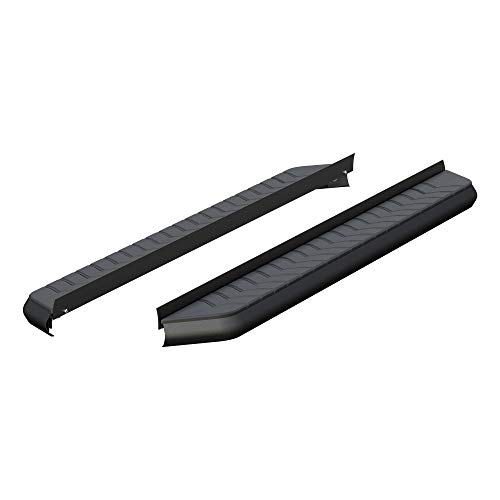ARIES 2051970 AeroTread 70-Inch Black Stainless Steel SUV Running Boards, Brackets Sold Separately
