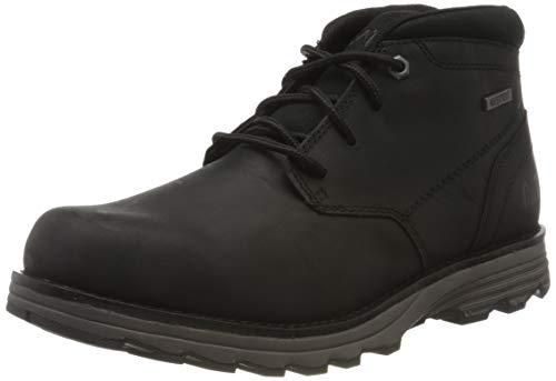 Cat Footwear Elude WP, Botas Chukka Hombre, Negro (Black Black), 40 EU