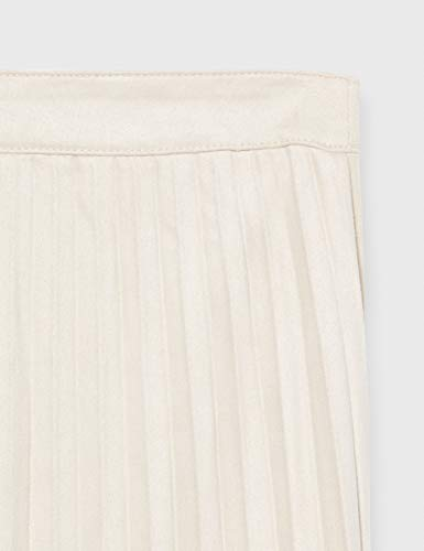 Only Onlcloud Faux Suede Pleated Skirt Otw Falda, Piedra Pómez, 38 para Mujer