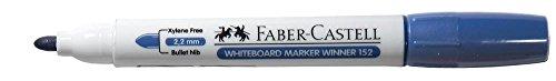 Faber Castell 159399 Whiteboard Marker Winner 152, ronde punt, 2,2 mm, 12 stuks, zwart