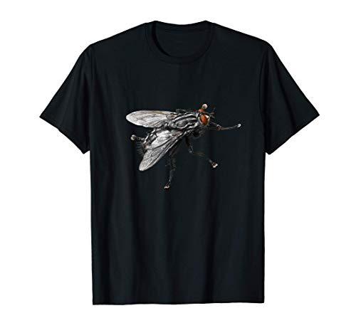 Mosca Negra Bastante Gigante Con Pelos Camiseta