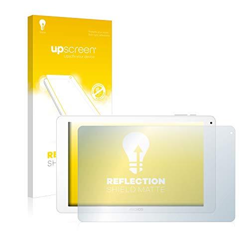 upscreen Entspiegelungs-Schutzfolie kompatibel mit Archos 101 Platinum 3G – Anti-Reflex Bildschirmschutz-Folie Matt