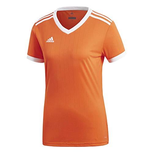 adidas Women's Tabela 18 Jersey, Orange/White, XSTP