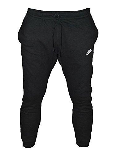 Nike Herren Jogger Club Jogginghose, schwarz (Black/White 010), Gr. XXL