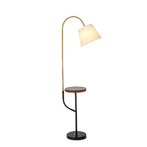 Lámparas de Pie Lámpara de Piso Luz de Pie Mármol Multifuncional Lámpara...