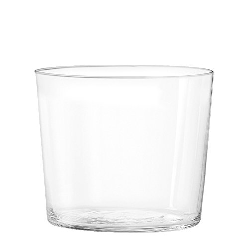 H&H Starck Vaso Vino de 270 CC, Vidrio, Transparente, 6 Piezas