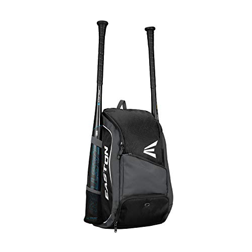 EASTON GAME READY Bat & Equipment Backpack Bag, Black