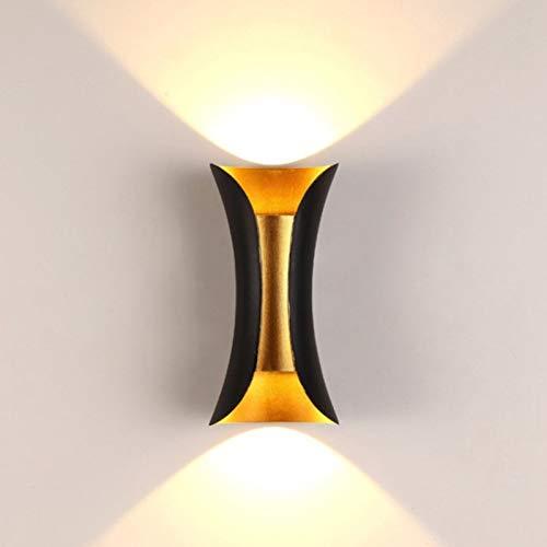 WZHZJ Lámpara de Pared Moderna Lámpara de Pared LED de Interior al Aire Libre Sala de Estar Pasillo decoración de la Sala de Estar Luces de Pared para el hogar