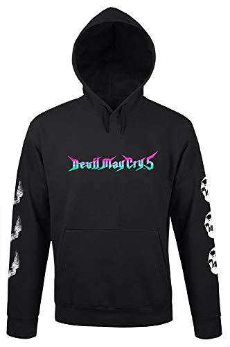 Devil May Cry 5 Hooded Sweater Smokin Sexy Size S Level Wear Felpe