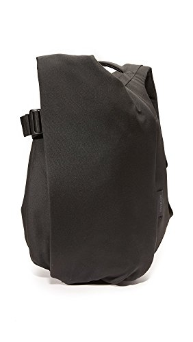 Cote & Ciel Men's Isar Ecoyarn Medium Backpack, Black, One Size