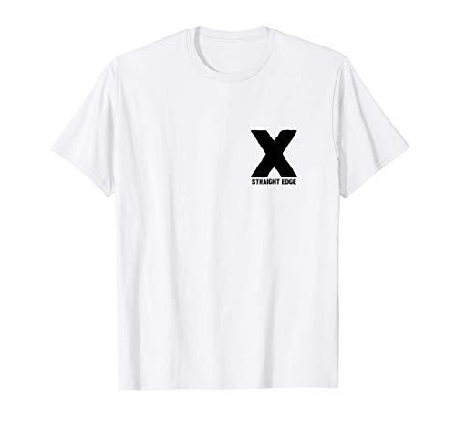X Straight Edge Hardcore Punk Rock Band Fan T-Shirt