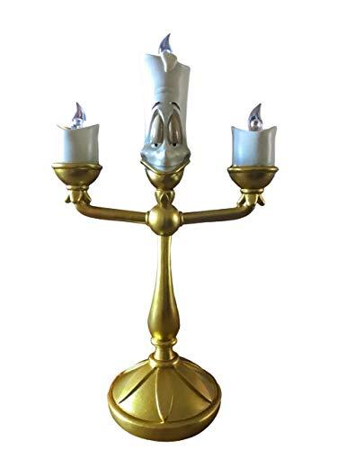Die Schöne und das Biest Disney Kerzenleuchter Lumiere 3 LEDs 29x16,5x9cm