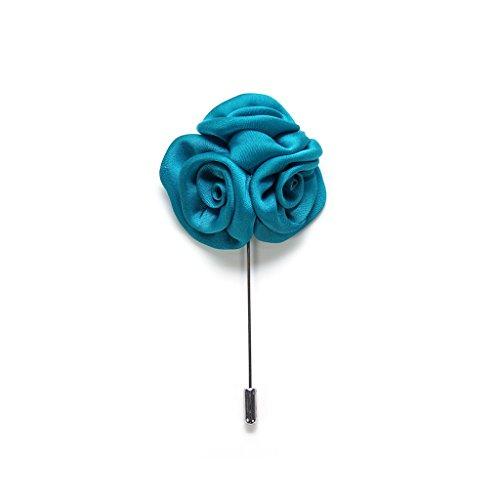 Ansteckblume / Herren Brosche / Hochzeitsbrosche / Lapel Pin / Anstecknadel / Blumenbrosche / Boutonniere / Reversblume / Kragenblume / Brosche / Hochzeit / Jackett / Gentleman (1)