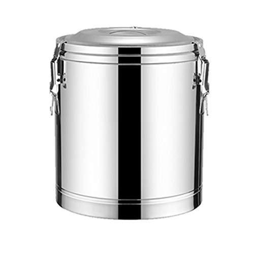 GYJ RVS Geïsoleerde Vat, Drank Dispenser, Vat Dubbele Muur, voor Thee Winkel Commerciële Familie en Keuken Koken