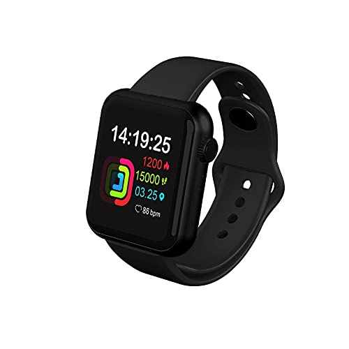 Relojes Digitales Mujer Deporte Podómetro Reloj Redondo Bluetooth Rastreador de Ejercicios Presión Arterial Reloj para Hombres para Apple OPPO Android iOS Sport Fitness Tracker Reloj Inteligente