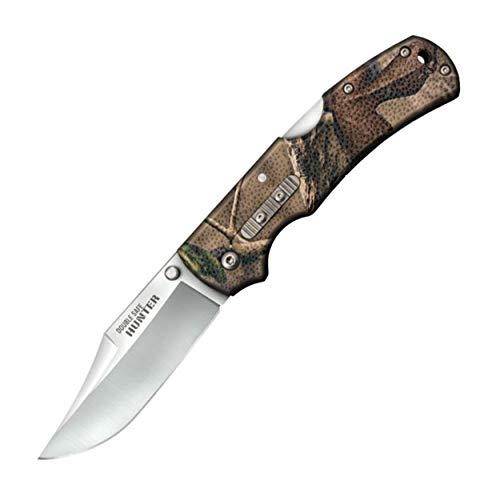 Cold Steel Double Safe Hunter Camo Couteau Pliant Adulte Unisexe, 89mm
