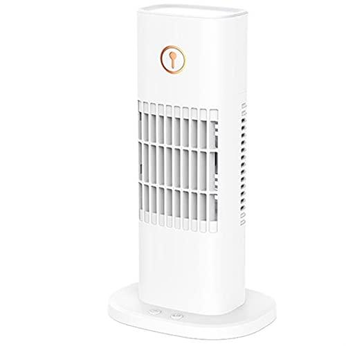 cyg Ventilador De Torre, Creatividad Ventilador De Columna Spray Humectante USB Oscillating Tower Fan para Oficina En Casa Ventilador De Oscilación Fan (Color : B)