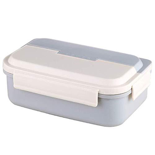 For Kids Dichte For Kids School Travel Lunch Box Magnetron Vriezer Vaatwasser met herbruikbare Bestek (Kleur: Roze) Geïsoleerde draagbare lunchbox. (Color : Blue)