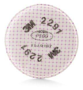 3M Safety 2291 Advanced Particulate Filter, P100. Pair
