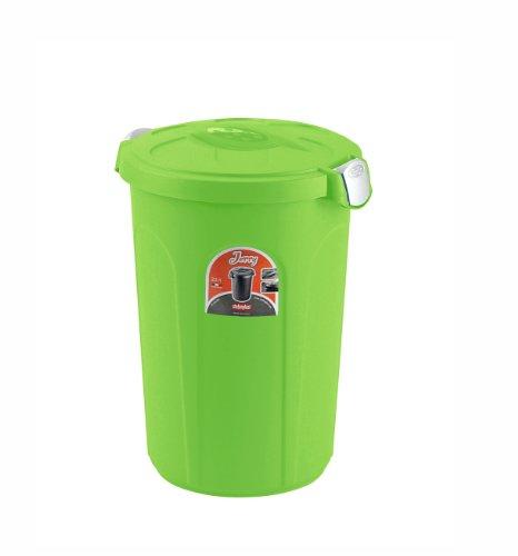 Stefanplast Contenitore salvafreschezza Cibo per Animali, Verde, cm 37x32x46h