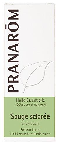 Pranarôm | Huile Essentielle Sauge Sclarée | Salvia sclarea | Sommité Fleurie | HECT |10 ml